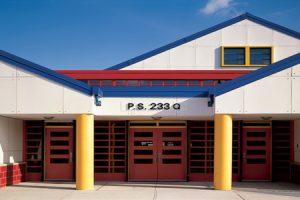875 School building front